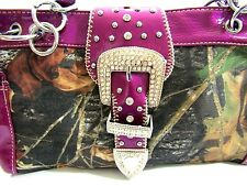 WOMAN RHINESTONE HANDBAG PURPLE BARBIE STYLE #A4