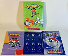 Pokemon Trading Card Game Lightning Bug Theme Deck Box & Inserts ONLY - no cards