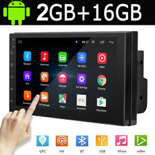 7'' Double 2 DIN Android 9.1 Car Stereo FM Radio GPS Navigation Head Unit