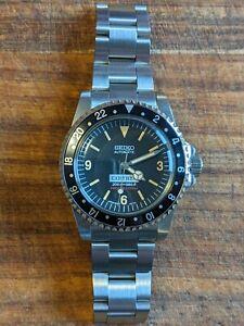 Vintage 5512 Submariner 369 Style Diver Homage Seiko Nh35 Watch