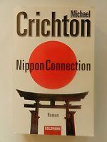 Michael Crichton Nippon Connection Roman Goldmann Verlag Thriller Roman Buch