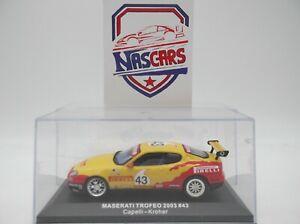1/43 Maserati Trofeo 2003 #43 jaune Capelli-Kroher Altaya