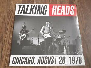 TALKING HEADS - CHICAGO 1978 LP BLUE VINYL NEW SEALED