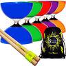 CAROUSEL Ball Bearing Pro Diabolo Set + Wooden Diablo Handsticks, String  & Bag
