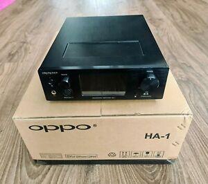 OPPO HA 1 High-End Stereo Kopfhörer-Verstärker inkl. DAC schwarz
