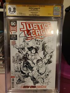 CGC Signature Series Justice League #1 Signed by Scott Snyder 9.8 Grade