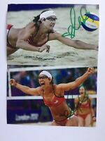 Misty May Treanor Autographed Photo Olympic Gold Medal