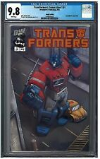 TRANSFORMERS: GENERATION 1 #1 CGC 9.8 (4/02) Dreamwave Productions white pages
