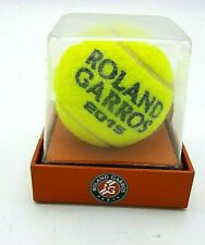 Used Tennis Ball From The Tournament of Roland Garros Sealed Paris France 2015