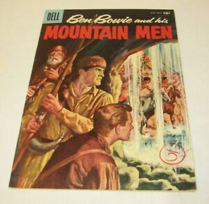 DELL Western #11 1957 Vintage Comics Comic Book Ben Bowie and his MOUNTIAN MEN