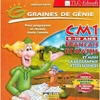 Graines de génie CM1 français math CD ROM PC