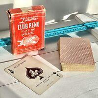 Vintage 1941 ARRCO Club Reno No. 103 Duratone Playing Card Deck Early RARE 059