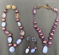 Vintage Loulou De La Falaise Designer Necklace & Bracelet Set