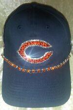 Chicago Bears New Era Women's Rhinestone Bling NFL Cap Hat ~NEW~