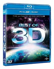 Best of 3D: The Ultimate 3D Collection (Blu-ray, Region Free) *NEW/SEALED*