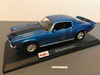 Maisto 1971 Chevrolet Camaro Z/28 2020 Special Edition 1:18 Scale Blue #31131