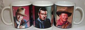 John Wayne Cowboy New Wrap Around Design Coffee Tea Mug Fathers Day Dad Gift