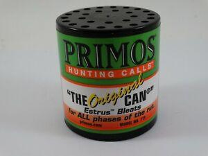 Primos Hunting Calls The Original Can Estrus Bleets Deer Call
