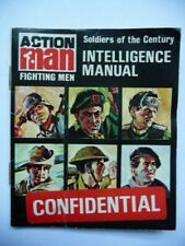 1960's Action Man Intelligence Manual Booklet - Soldiers Of The Century