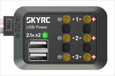 SKY RC SK-600114-01 DC Power Distributor x3 / USB Power x2 w/ Banana Connector