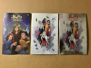 Buffy the Vampire Slayer #25 LOT: Frany 1:10, cover B & C... BOOM 2021