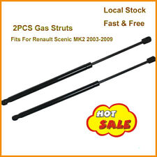 2x Gas Struts Tailgate Boot Holders fits Renault Megane Scenic MPV 2003-2009 NEW