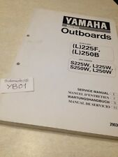 Yamaha engine L225F L250F L 225 250 F hors bord manual workshop service manual