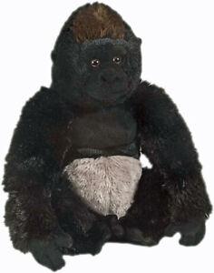 "Silverback Gorilla soft plush toy 12""/30cm stuffed animal Wild Republic NEW"