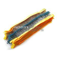 MEGA Pack - 50 tipi di comune 1 / 4W Resistenze -- 2500 Pack!