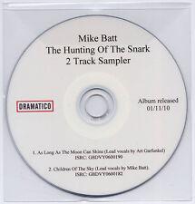 MIKE BATT Hunting Of The Snark UK 2-trk promo sampler CD George Harrison