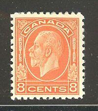 Canada #200, 1932 8c King George V - Medallion Issue, Unused Hinged