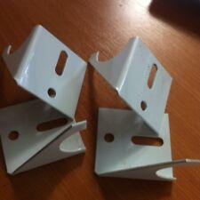 White Vertical Designer Radiators Wall brackets  x4