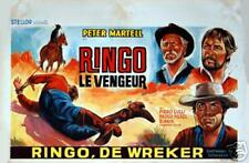 Western : Dos Hombres Van A Morir : Belgian Poster