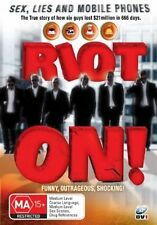 Riot On! - Sex, Lies And Mobile Phones (DVD, 2006) LIKE NEW.... R4