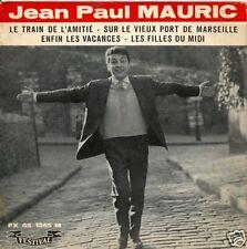 EP 4 TITRES--JEAN-PAUL MAURIC--LE TRAIN DE L'AMITIE