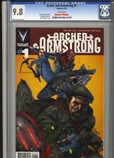 Valiant Entertainment: Archer & Armstrong 1 CGC 9.8 w 2012