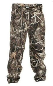 Drake Waterfowl 30302 Size 8 Youth  Fleece Lined Pants Max4 Camo 16086