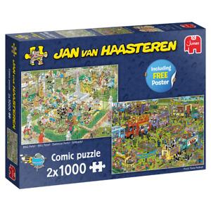Jumbo 19099 Jan van Haasteren 2x 1000 Teile Comic Puzzle (B-Ware)
