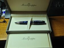 Montegrappa Miya Ballpoint Pen - Midnight Blue ISMYTBCD