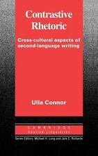 Contrastive Rhetoric: Cross-Cultural Aspects of Second Language-ExLibrary