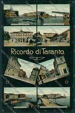 Taranto Città Ricordo di cartolina QQ4964