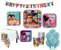 Wreck-It Ralph Deluxe Birthday Party Package 8 Guests Cups Plates Napkins More