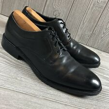 Cole Haan Grand Os Mens Black Leather Lace Up Oxford Dress Shoes Size 10.5 S17