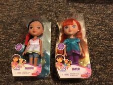 Fisher-Price Nickelodeon Dora and Friends Naiya AND Kate New B55