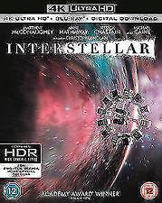 Interstellar 4k Ultra HD Region 2 DVD