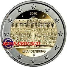 2 Euro Commémorative Allemagne 2020 - Brandenburg UNC NEUVE
