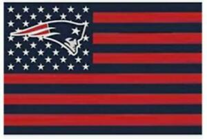 PATRIOTS FLAG 3X5 Man Cave New England Superbowl Super Bowl USA Tailgating
