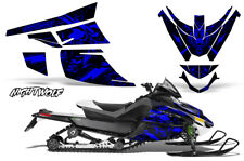 Arctic Cat Z1 Turbo Decal Graphics Kit Sled Snowmobile Wrap 06-12 NIGHTWOLF BLUE