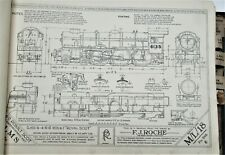 More details for roche prototype drawings railway locomotives rolling stock 1948 0riginal volume
