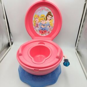 First Years Disney Princesses Potty Training System Rare 2010 Magical Sounds New